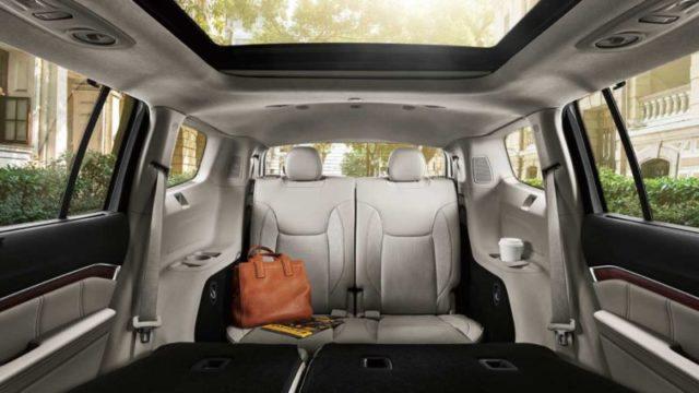 2019 Jeep Grand Wagoneer seats