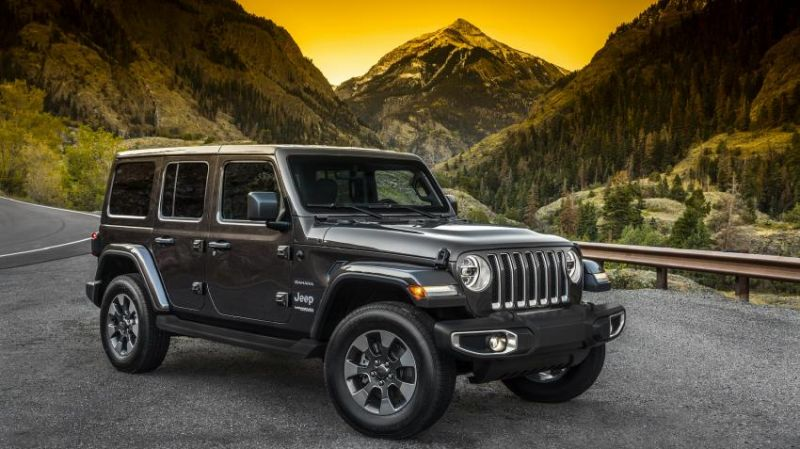 2019 Jeep Wrangler Unlimited side