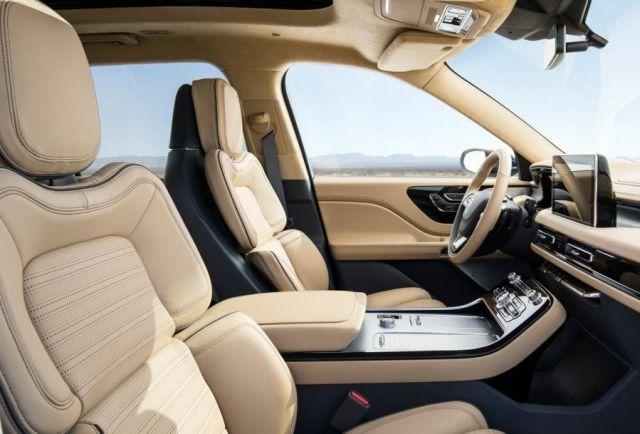 2019 Lincoln Aviator seats