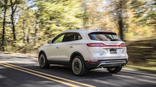 2019 Lincoln MKC rear