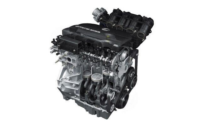 2019 Mazda CX-7 engine