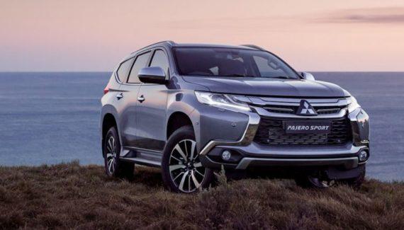 2019 Mitsubishi Montero Sport front view