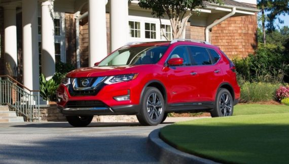 2019 Nissan Rogue Hybrid front