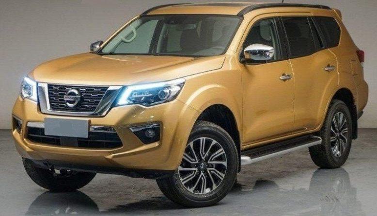 2019 Nissan Xterra front