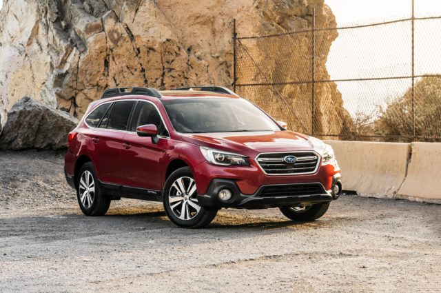 2019 Subaru Outback front