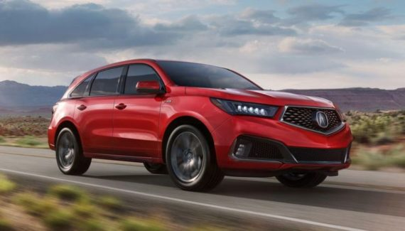 2020 Acura MDX front