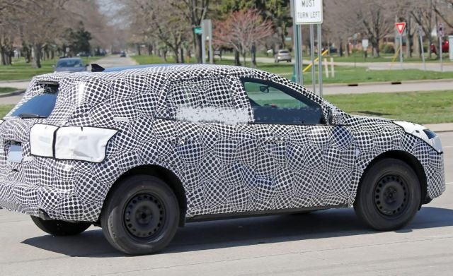 2020 Ford Escape side
