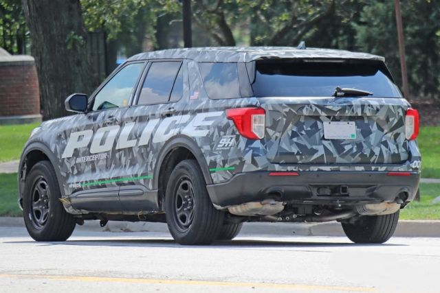 2020 Ford Explorer rear
