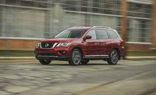 2020 Nissan Pathfinder front