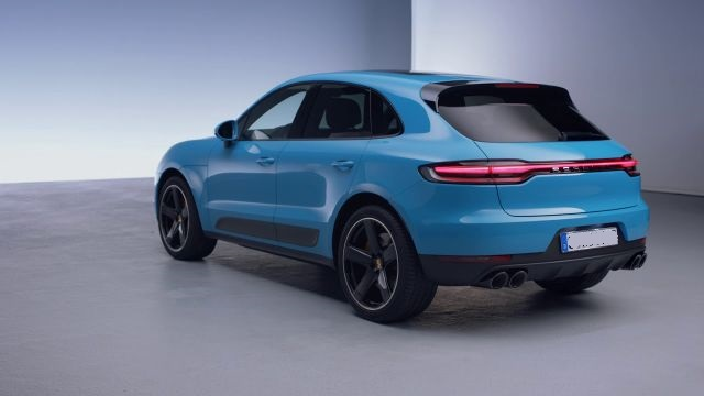 2020 Porsche Macan rear view