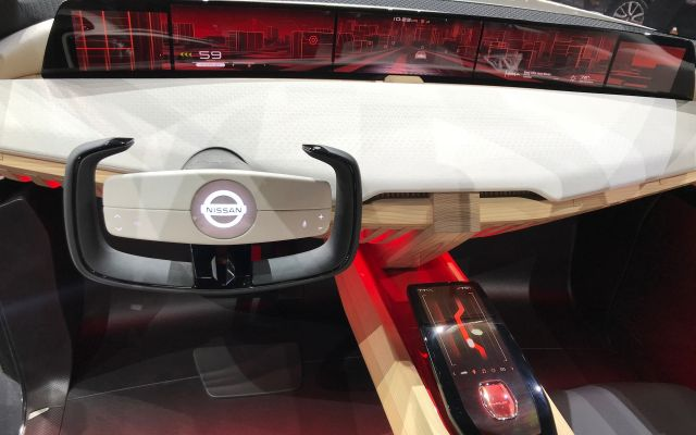 Nissan Xmotion SUV concept interior