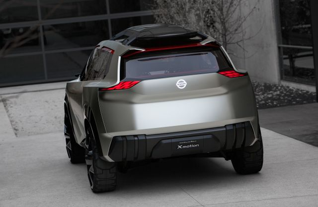 Nissan Xmotion SUV concept rear