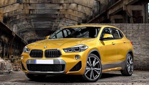 2019 BMW X2 front