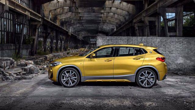 2019 BMW X2 side