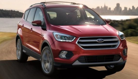 2019 Ford Escape Hybrid front