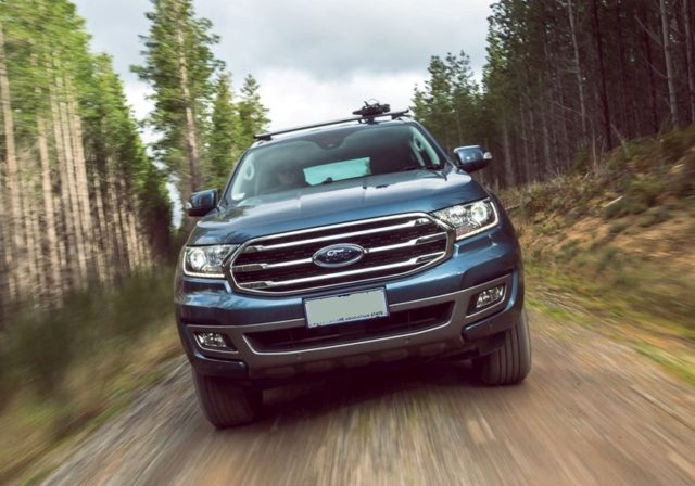 2019 Ford Everest Titanium