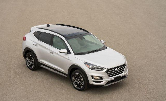 2019 Hyundai Tucson front