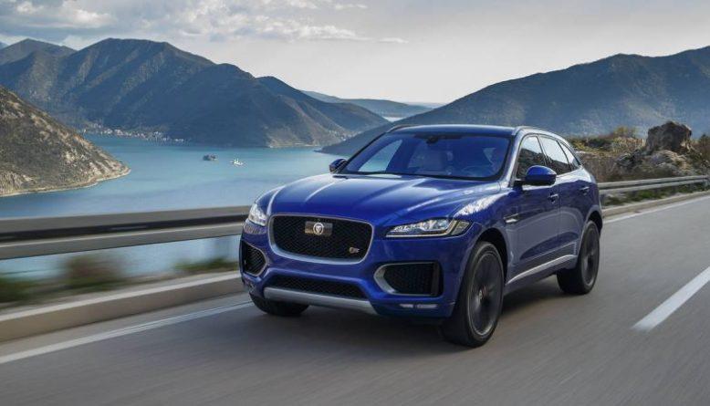 2019 Jaguar F-Pace front