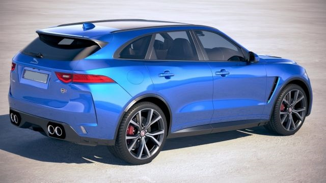 2019 Jaguar F-Pace rear