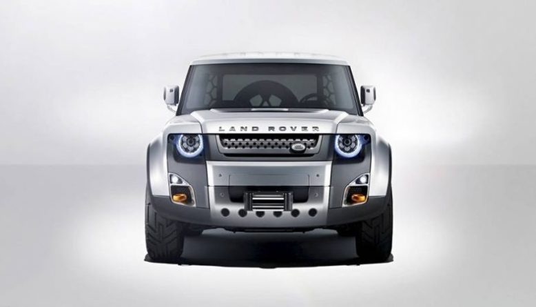 2019 Land Rover Defender front view