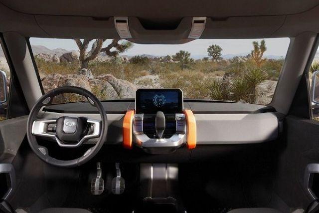 2019 Land Rover Defender interior