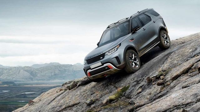 2019 Land Rover Discovery SVX front