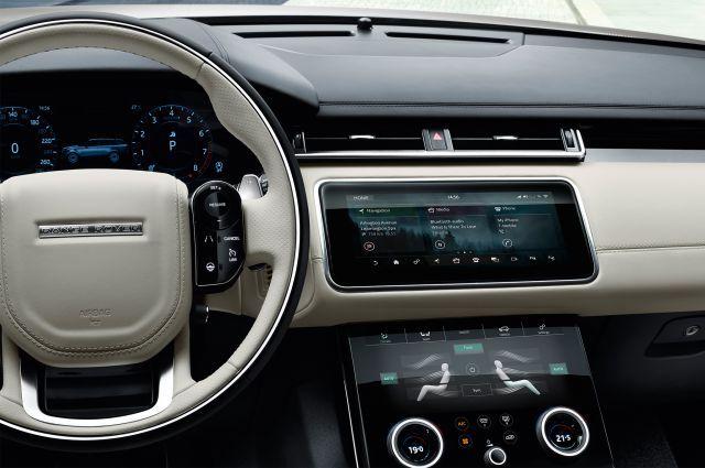 2019 Land Rover Discovery SVX interior