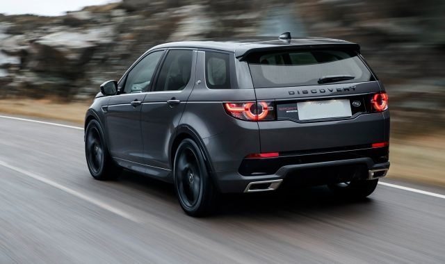 2019 Land Rover Discovery rear view