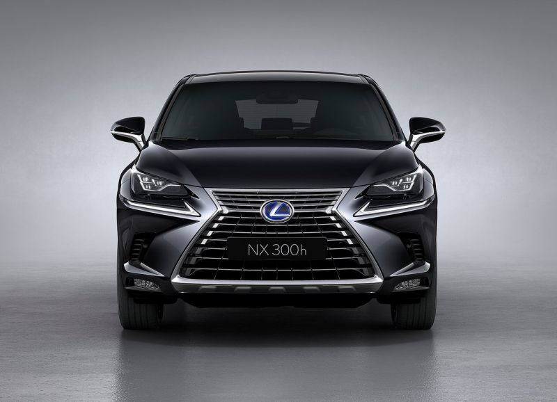 2019 Lexus NX hybrid front