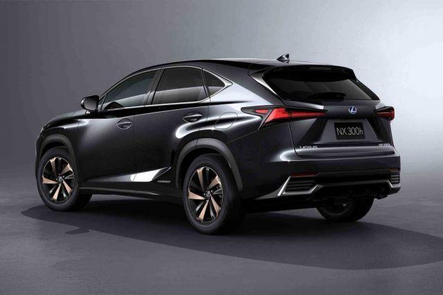 2019 Lexus NX hybrid rear