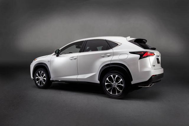 2019 Lexus NX rear