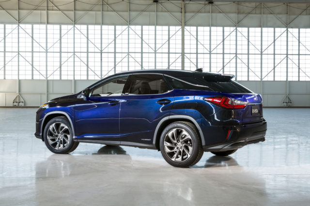 2019 Lexus RX 450h rear