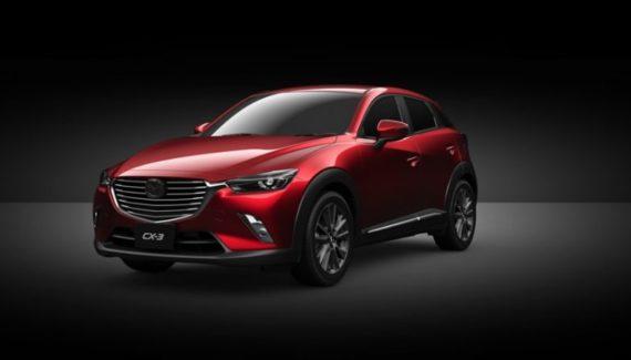 2019 Mazda CX-3 front
