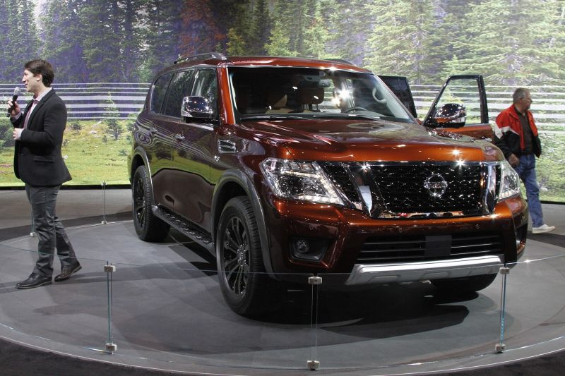 2019 nissan armada review  price  towing capacity   2021 new suv