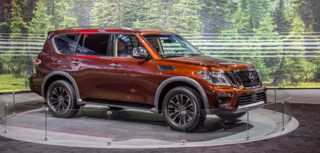 2019 Nissan Armada Review, Price, Towing Capacity - 2020
