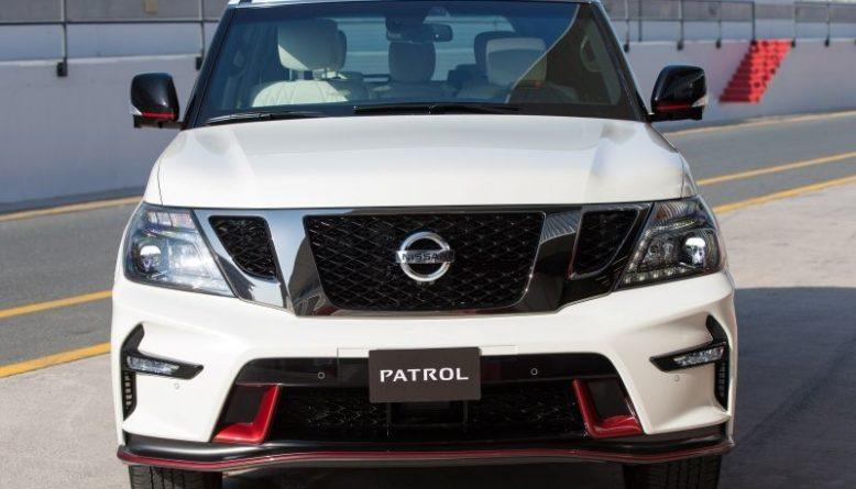 2019 Nissan Patrol front