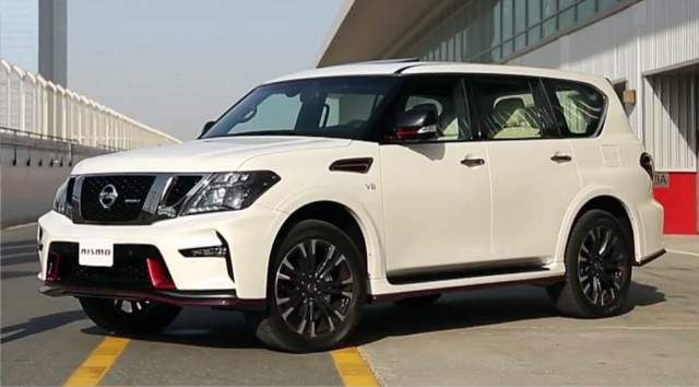 2019 Nissan Patrol side