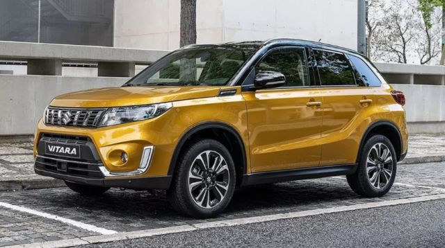 2019 Suzuki Vitara front