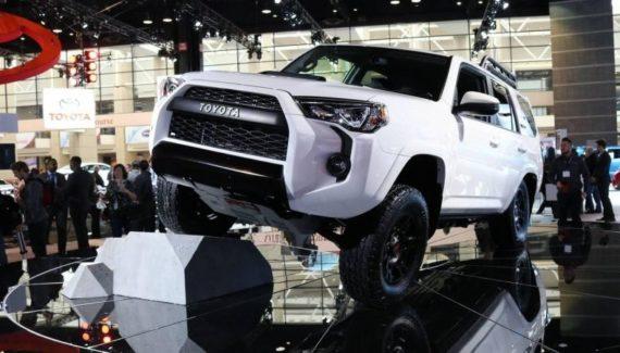 2019 Toyota 4Runner TRD Pro front