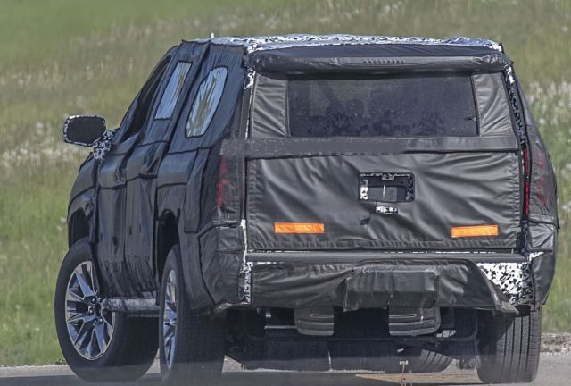 2020 Chevy Suburban rear
