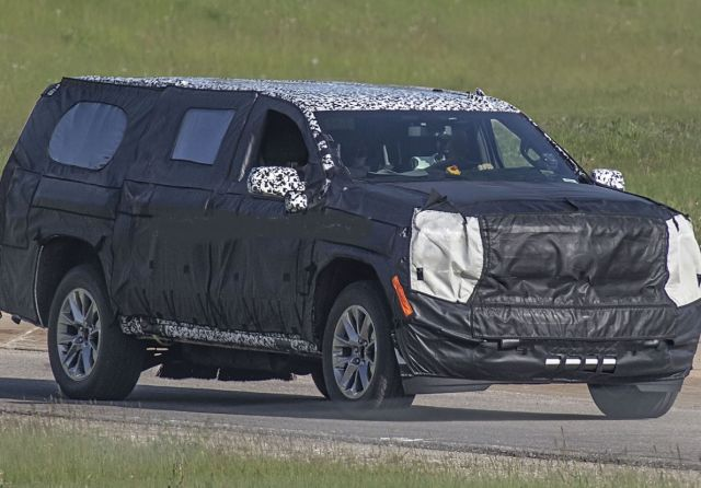 2020 Chevy Suburban side