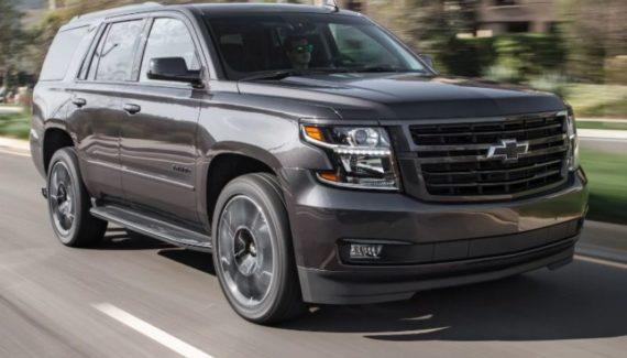2020 Chevy Tahoe front