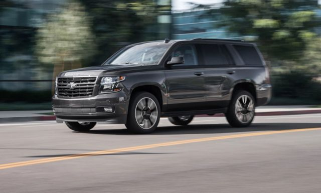 2020 Chevy Tahoe side