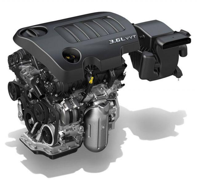 2020 Dodge Journey engine