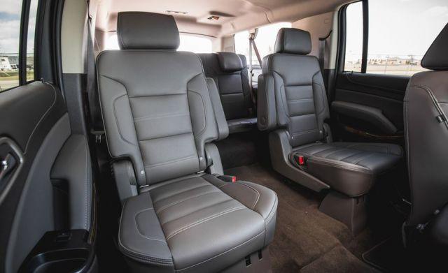 2020 GMC Yukon seats