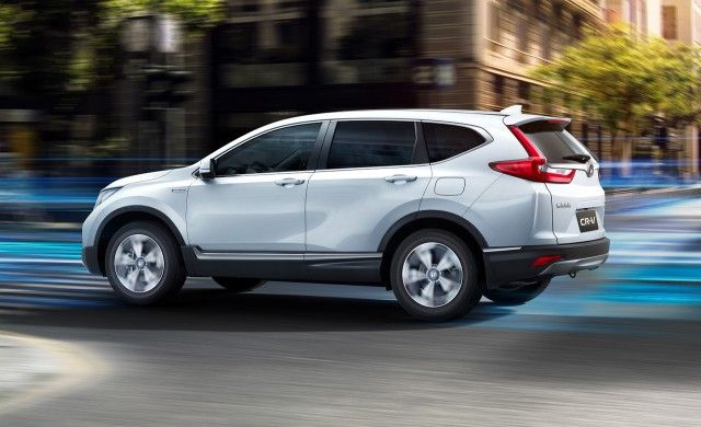 2020 Honda CR-V side