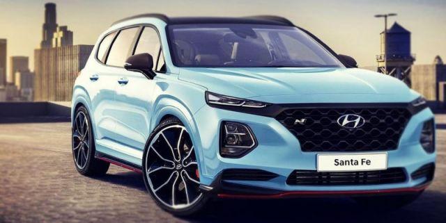 2020 Hyundai Santa Fe N