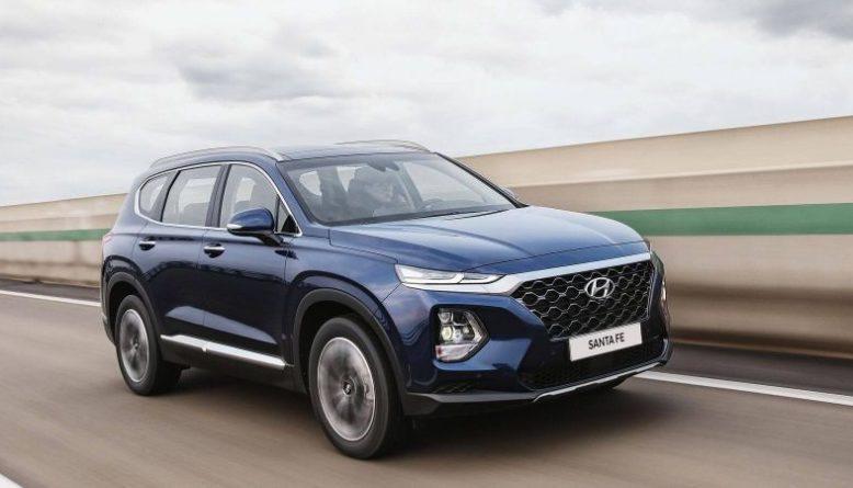 2020 Hyundai Santa Fe front