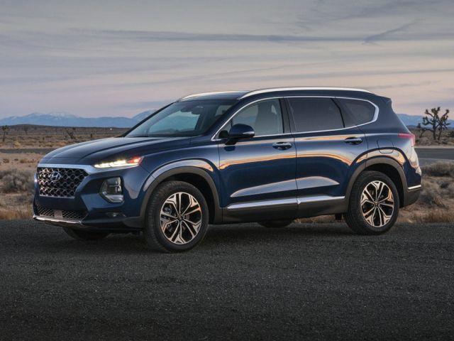 2020 Hyundai Santa Fe side