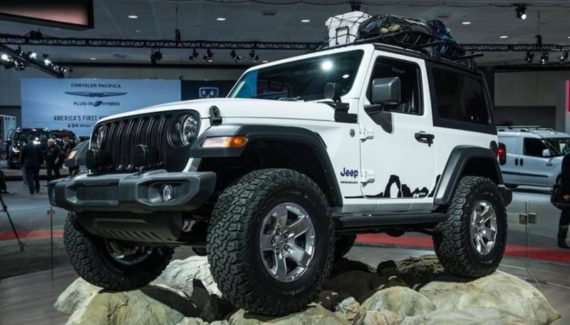 2020 Jeep Wrangler concept front
